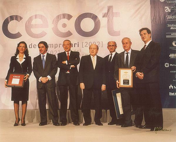 Aznar i Pujol van presidir l'edició passada.