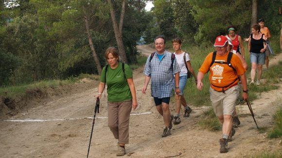 Sant Cugat i Collserola ofereixen moltes possibilitats per caminar / Foto: CEI