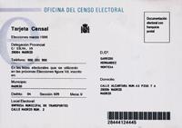 El cens electoral, a consulta a través de missatges de telèfon mòbil