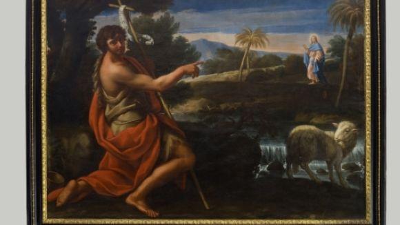 El Centre de Restauració enllesteix  la restauració de dues pintures italianes del segle XVIII