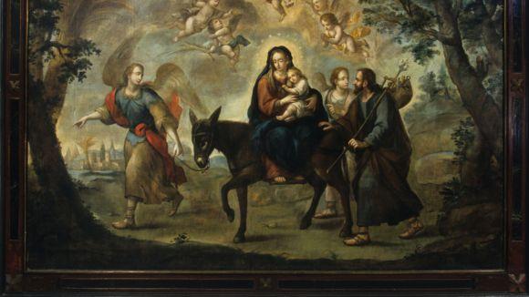 El Centre de Restauració s'ocupa d'un dels conjunts pictòrics religiosos més grans