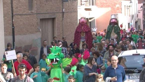 Els Geganters celebraran la Cercavila d'Escoles pels carrers de la ciutat amb balls conjunts