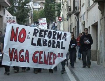 La CUP aposta per la vaga general per reivindicar els drets dels treballadors