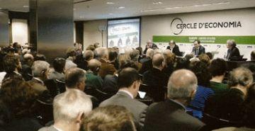 Lluís Recoder participa en una taula de debat del Cercle d'Economia sobre l'eix de València, Barcelona i Lió
