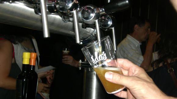 Una gran festa de la cervesa aterra a la plaça de la Vila