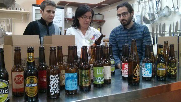 L'Ateneu impulsa tastos de cerveses artesanes per donar-les a conèixer