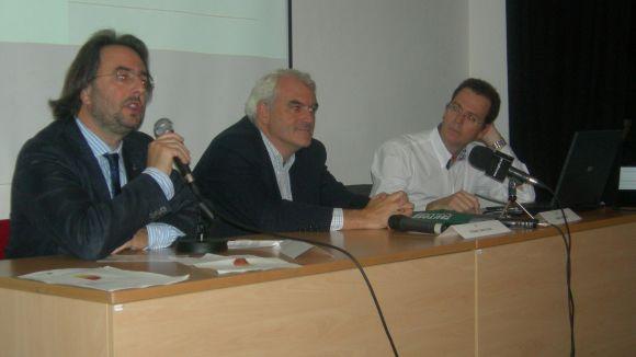 Raül Grangé, César Castejón i Enric Arroyo