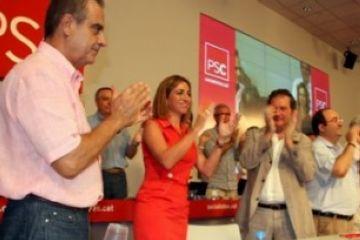 Chacón en el moment de ser elegida. / Font: ACN
