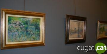 Charles Neal porta els seus paisatges de la costa anglesa i de París a l'espai Lluís Ribas