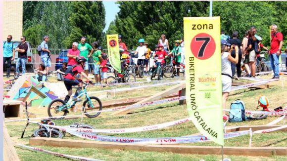 Sant Cugat acull diumenge la primera prova de l'Open Vallès-BCN de bike trial