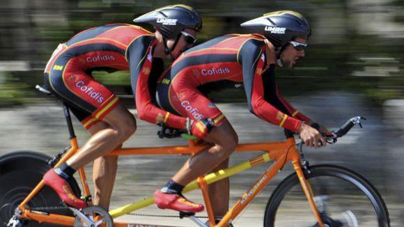 Els representants del CAR de Sant Cugat als Jocs Paralímpics de Rio comencen la seva participació
