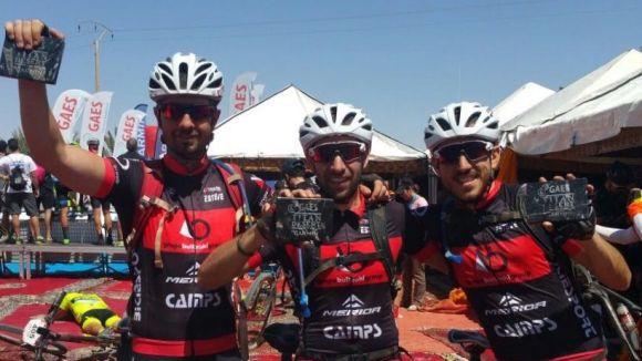 L'equip santcugatenc Bultzaki Camps-Merida Bike Team finalitza sisè a la Titan Desert