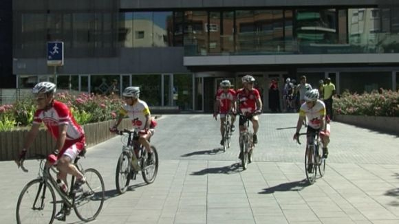 La mHealth Gran Tour a Sant Cugat: esport i diabetis és possible