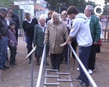La Floresta ja té circuits de salut per a la gent gran del districte