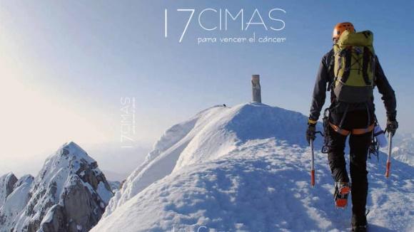 Presentació de llibre: '17 cimas para vencer el cáncer'
