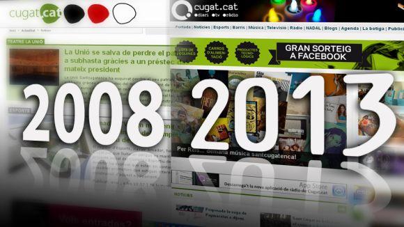 Cinquè aniversari del nou portal multimèdia Cugat.cat
