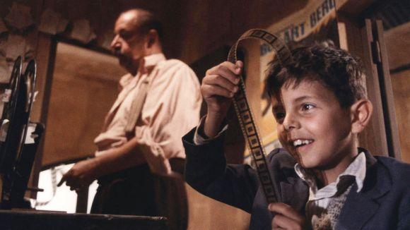 Fotograma de 'Cinema Paradiso', que encetarà els Dijous Cinèfils als Cinemes Sant Cugat / Font: Arxiu Cugat Mèdia