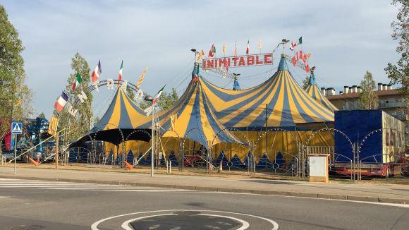 El Circ de Catalunya s'instal·la a Can Vernet i ofereix el xou d'humor de Los Gabytos