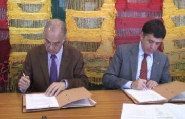 Signat el conveni d'ús compartit del circuit de cros de Volpelleres entre l'Ajuntament i el CAR