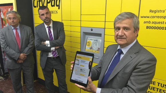 L'estació de Sant Cugat de FGC ofereix un servei automàtic per lliurar paquets