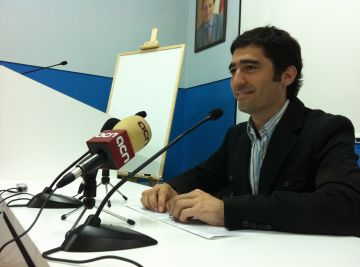 Jordi Puigneró durant la roda de premsa