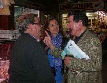 CiU aposta per la millora del mercat Pere San i la vianantització de l'avinguda Cerdanyola per fomentar el consum