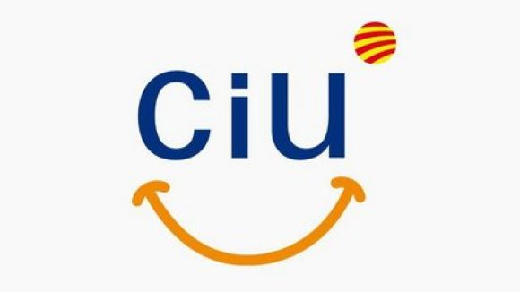 Conesa i regidors de CiU, seguint el discurs de valoració d'Artur Mas