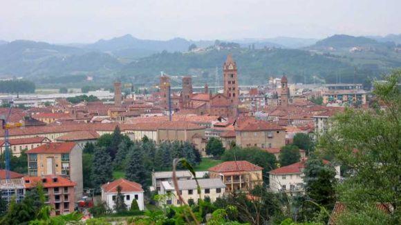 Alumnes i professors de l'escola Fusió viatgen d'intercanvi a la ciutat d'Alba
