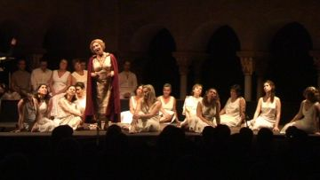 'La bella Helena' s'estrena a les Nits de Música al Claustre, amb l'Òpera de Cambra de Sant Cugat