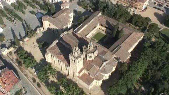 'La 7mana Vallès' descobreix el Claustre del Monestir de Sant Cugat