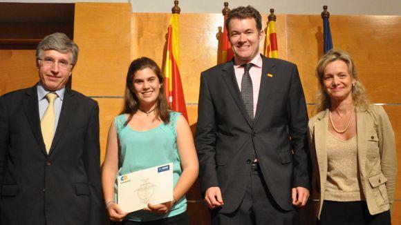 Una alumna del Pla i Farreras guanya el primer premi d''Aquí hi ha Química'