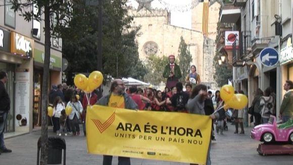 L'ANC i Òmnium Cultural llancen una crida a la participació massiva el 9N