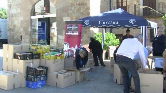 Més de cinc tones d'aliments per combatre la pobresa i l'exclusió social