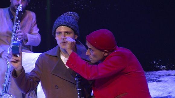 Música i humor es fonen en l'art de fer riure al Teatre-Auditori amb el clown Leandre