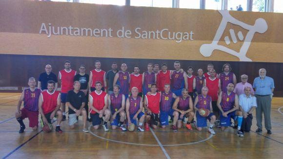 El món local de l'esport ret homenatge als 50 anys d'història del Club Bàsquet Sant Cugat