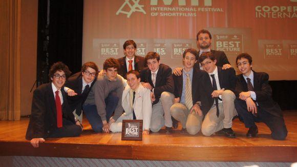 El Club d'Aran guanya tres premis en un certamen internacional de curtmetratges