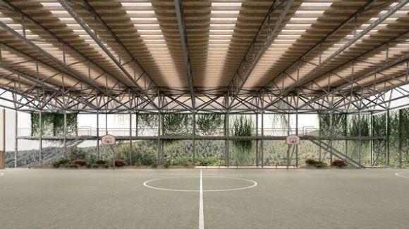 El projecte de cobertura de les Planes / Foto: Ajuntament de Sant Cugat