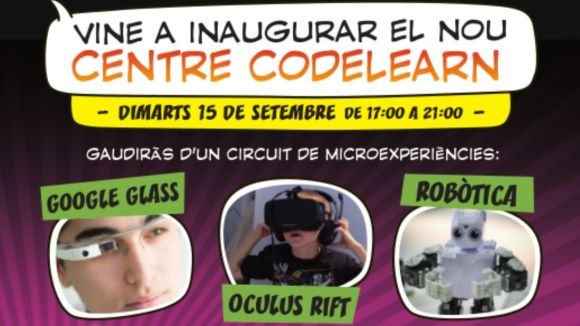 L'escola de robòtica Codelearn obre un centre a Sant Cugat aquest dimarts