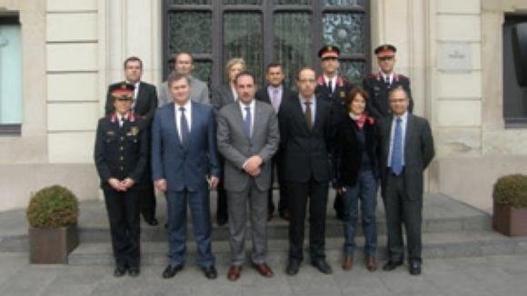 El comitè ha celebrat aquest dilluns la primera reunió / Foto: Conselleria d'Interior