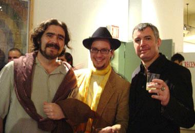 L'artista Adolf i el periodista Xavier Borras Fernández formen part de l'equip d'aquesta publicació, que fins ara s'editava a Internet