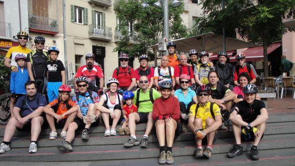 Sant Cugat acollirà la meta d'una bicicletada nocturna