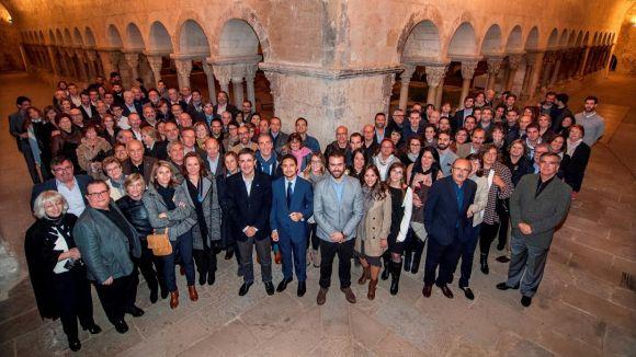 El Claustre acull el sopar anual dels aparelladors del Vallès Occidental