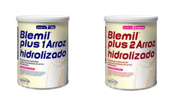Salut retira les fórmules infantils Blemil Plus 1 i Blemis Plus 2 per sospita de salmonel·losi