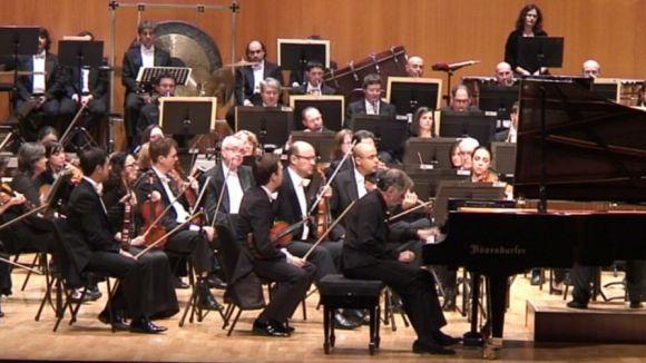 L'OBC i el pianista Josep Colom: un duet perfecte al Teatre-Auditori