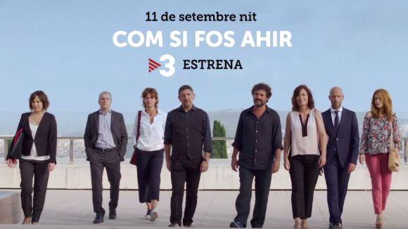 La nova sèrie de TV3 'Com si fos ahir' inclourà escenes rodades al CAR de Sant Cugat