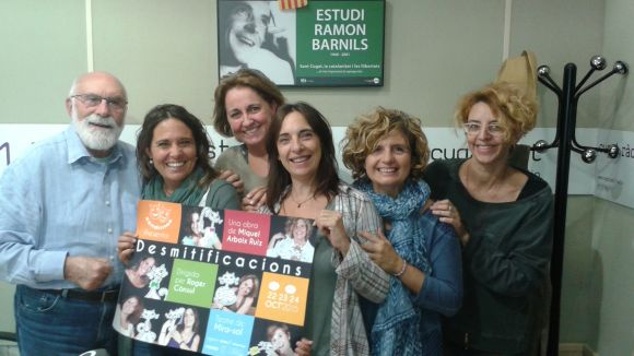 Eduard Jener, Mayte Calvo, Maria Vancells, Olga Munté, Núria Bou i Gisela Figueras