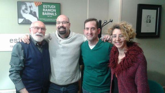 Eduard Jener, David Bozzo, Francisco Jimeno i Gisela Figueras
