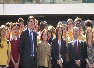 Alumnes de l'Àgora participen en el projecte europeu d'intercanvi 'Comenius'