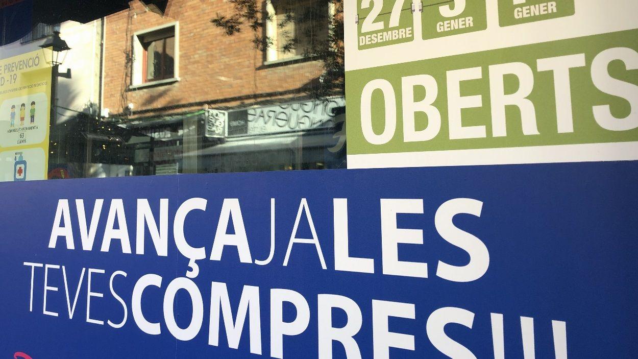 Entre un 80 i un 90% dels comerços de Sant Cugat tenen retolació en català / Foto: Cugat Mèdia