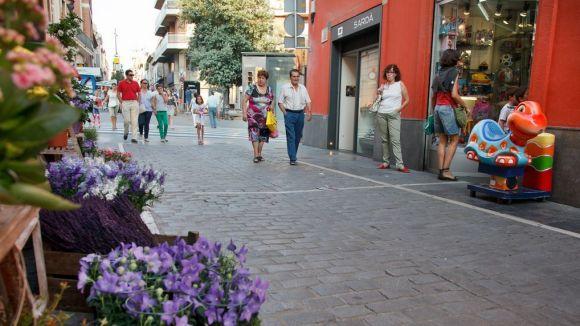 Els comerços de Sant Cugat facturen un 5,7% més l'últim any